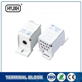 FJ6SF-1 series one-inlet multi-outlet DIN rail connection terminal block(elaborate type)inlet wire :25-70 mm sq