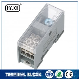 FJ6-JTS2EB Single pole DIN rail type connection terminal  max inlet wire :50 mm sq