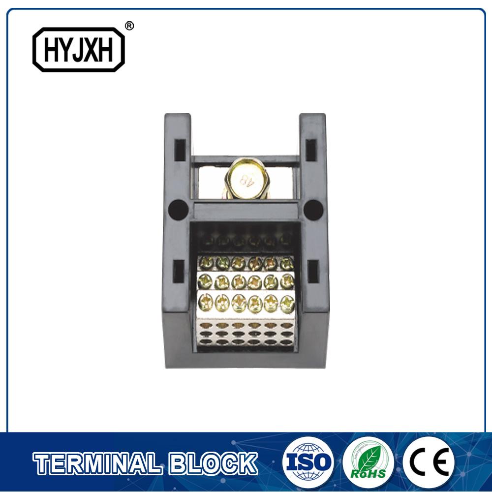 FJ6-JHT serie bakar-pole hartunea One, multi-outlet heavy uneko konexio terminal blokea