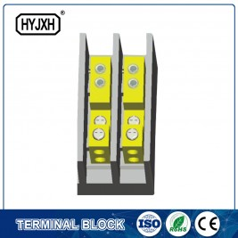 FJ6C-2 Single-phase series heavy current terminal blocks for measuring box(hole insertion type)
