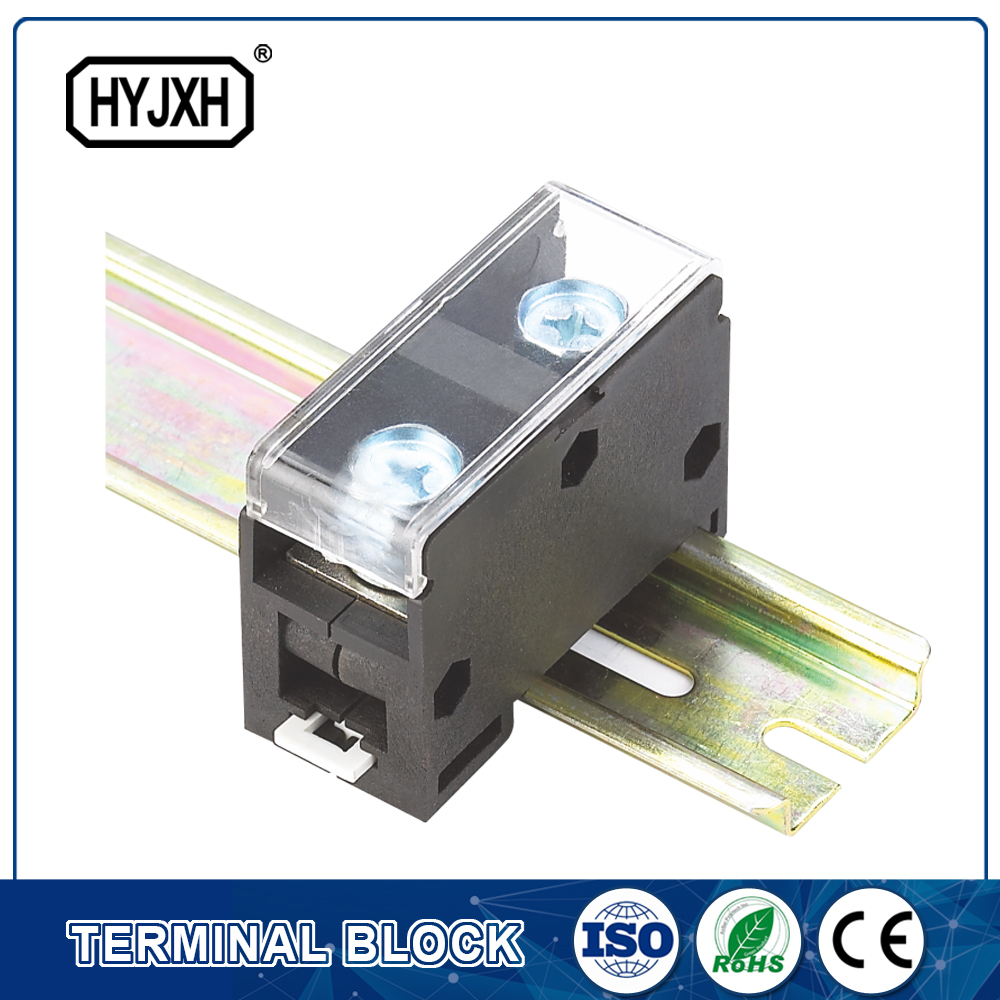 din rail type combination One inlet,multi-outlet connection terminal block for metering box