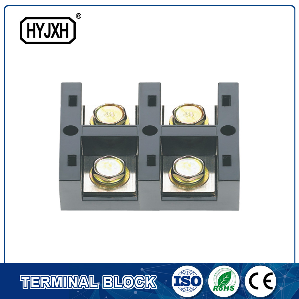 FJ6-JHT series single-phase two inlet,multi-outlet heavy current connection terminal block