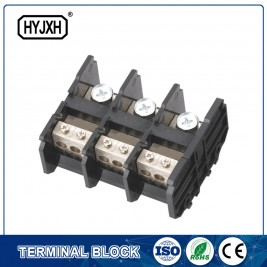 (150A)din rail type three phase three wire connection terminal block
