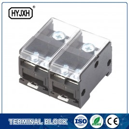 2din rail type combination two-inlet multi-outlet single phase connection terminal block for metering box