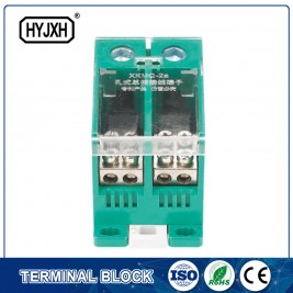 din-rail type single phase Two-inlet multi-outlet connection terminal block for meter box