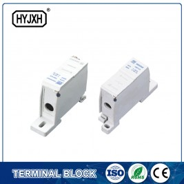 New Delivery for Three Phase Connection Terminal Block - FJ6SF-1 series one-inlet multi-outlet DIN rail connection terminal block(elaborate type)inlet wire :10-35 mm sq – Haiyan Terminal
