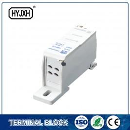 FJ6SF-4-reeks vier-inlaat multi-outlet DIN spoorverbinding terminale blok (uitgebreide tipe)