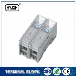 FJ6-JTS2EB Single phase DIN rail type connection terminal   max inlet wire :25 mm sq
