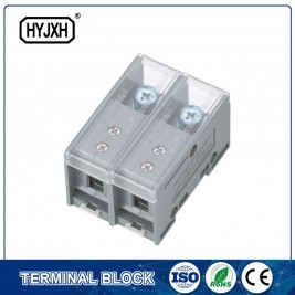 FJ6-JTS2EB Single phase DIN rail type connection terminal   max inlet wire :50 mm sq