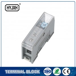FJ6-JTS2EB Single pole DIN rail type connection terminal  max inlet wire :25 mm sq
