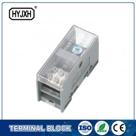FJ6-JTS2EB Single pole DIN rail type connection terminal  max inlet wire :70 mm sq