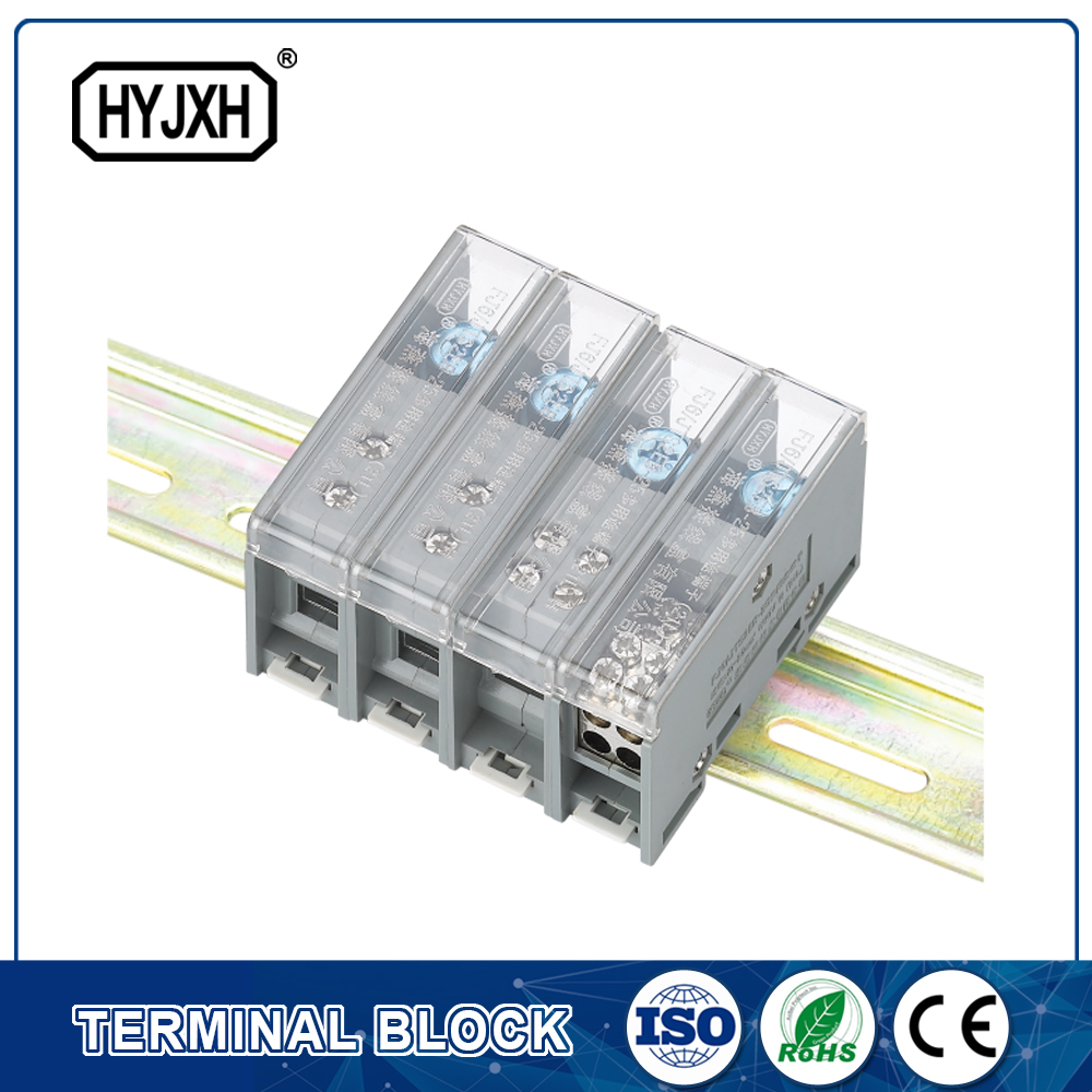 FJ6-JTS2EB Three Phase four Wire DIN rail combination type  connection terminal