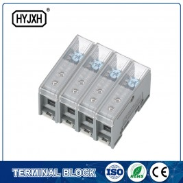 FJ6-JTS2EB Three Phase four Wire DIN rail type connection terminal max inlet wire :25 mm sq