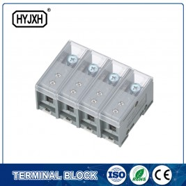 FJ6-JTS2EB Three Phase four Wire DIN rail type connection terminal max inlet wire :50 mm sq
