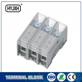 FJ6-JTS2EB Three Phase Three Wire DIN rail type connection terminal max inlet wire :25 mm sq