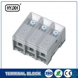 FJ6-JTS2EB Three Phase Three Wire DIN rail type connection terminal max inlet wire :50 mm sq