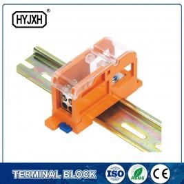 Discountable price Custom Electric Motor Terminal Box - DIN rail type Multi-purpose terminal block, Max inlet diameter 35 SQMM(connect nasal type) – Haiyan Terminal