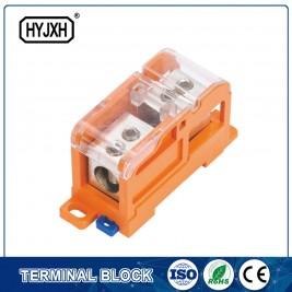 DIN tipus de carril energia multiusos bloc de terminals de mesurament (Max diàmetre d'entrada 70 mm²)