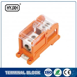 DIN rail type Multi-purpose energy measuring terminal block (Max inlet diameter 150 SQMM)