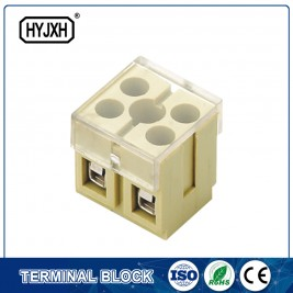 combination type connection terminal block