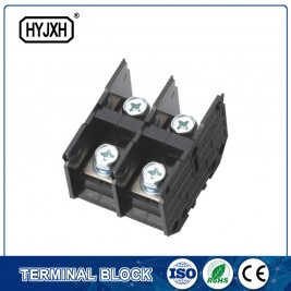 (200A)Din rail type Single phase Two inlet,multi-outlet connection terminal block for metering box