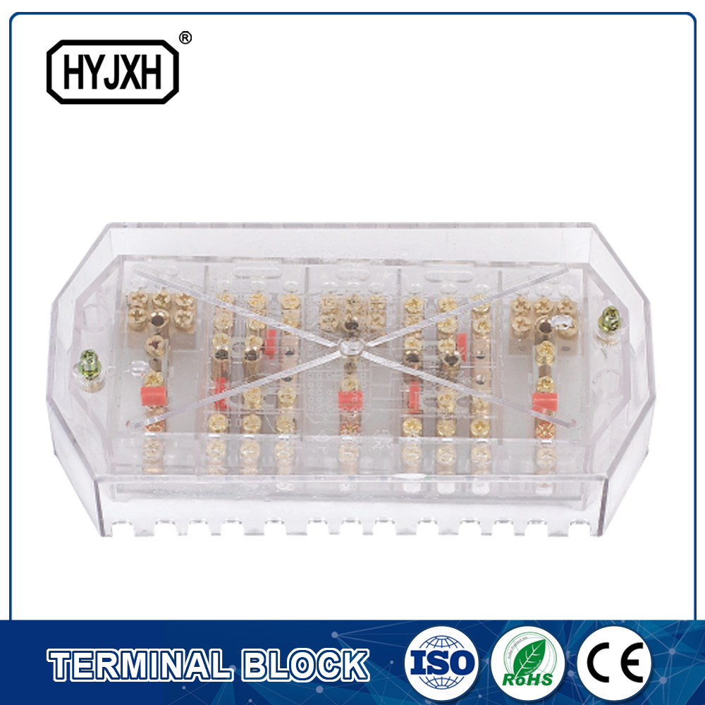 transparent Preventing electricity-stolen One inlet three outlet Three phase  four wire