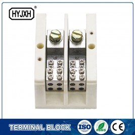 Hot sale Copper Tube Terminal Lugs - (lug connection type)Single phase large current high temperature multichannel output connection terminal block for measurement box – Haiyan Terminal