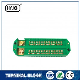 OEM/ODM Factory Waterproof Box Connector - Neutral line connection terminal block – Haiyan Terminal