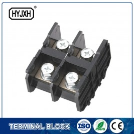 (150A)Din rail type Single phase Two inlet,multi-outlet connection terminal block for metering box
