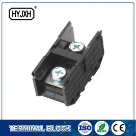 (200A)Din rail type Single phase one-inlet multi-outlet connection terminal block for metering box