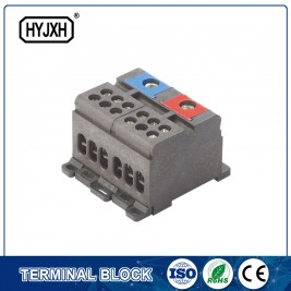 din rail type two-inlet multi-outlet Color separation connection terminal block for measuring box p292-p298