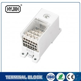 FJ6Q-4 din rail type self-elevating Power Distribution connection terminal block