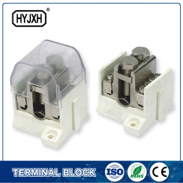Discount Price insulated Terminal - 3 din-rail type combination Mainline trunk line divider – Haiyan Terminal