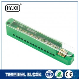 straight joint single pole connection terminal block for metering box
