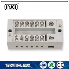 High Quality for Kw Insulation Piercing Connector - self-elevating single phase terminal block for mesuring box – Haiyan Terminal